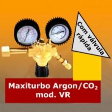 Regulador de Argon / CO2 - Maxi Turbo VR